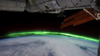 Earth Time Lapse View from Space, Fly Over  NASA ISS