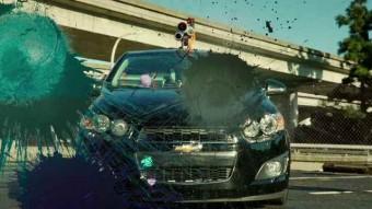 Street Art Documentary Chevy Sonic Stunts