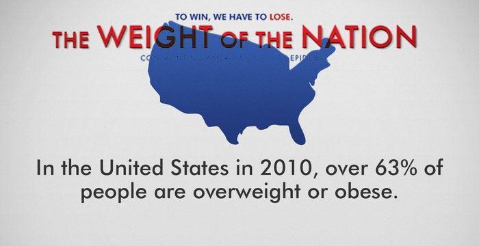 weight of a nation consequences The effects of the nation's obesity epidemic are immense: taxpayers -medical expenses for obese employees are 42 percent than for a person with a healthy weight 2014 campaign to end obesity.