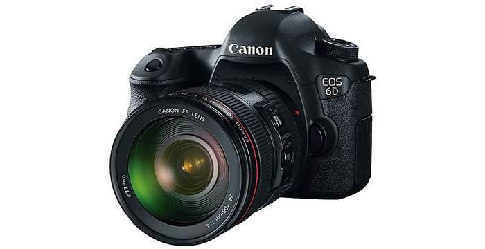 New Canon 6d Entry Level Full Frame Dslr 20mp Wi Fi