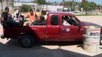Mexican Vigilantes Stand Up Against Crime